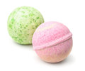 Aromatic bath bombs Royalty Free Stock Photo