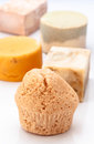Aromatic homemade soap scent pads Royalty Free Stock Image
