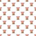 Aromatic lamp pattern seamless