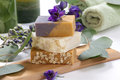 Aromatic Natural Soap Stock Image