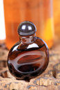 Aromatic oil bottle beautiful shot of Royalty Free Stock Photo
