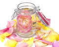 Aromatic rose water petals see my other works portfolio Royalty Free Stock Image