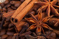 Aromatic spices Royalty Free Stock Photos