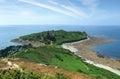 Around trebeurden idyllic coastal scenery in brittany france Stock Image