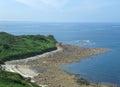 Around trebeurden idyllic coastal scenery in brittany france Stock Photo