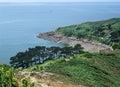 Around trebeurden idyllic coastal scenery in brittany france Royalty Free Stock Photography