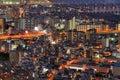 Arquitectura da cidade de Osaka Foto de Stock