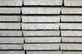 Arrange of cement sheet closeup in stock warehouse Royalty Free Stock Image