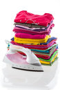 Arranged composition clothes Royalty Free Stock Image