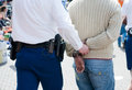 Arrested Royalty Free Stock Photo
