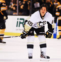 Arron asham pittsburgh penguins Immagini Stock