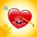 Arrow pierced Heart