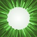 Arrow point vector illustration of green background Royalty Free Stock Photos