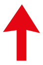arrow pointing up