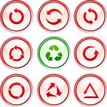 Arrows  buttons. Stock Image