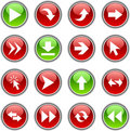 Arrows  buttons. Stock Photography
