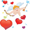 Arrows of Cupid Stock Images