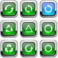 Arrows icons. Stock Photos