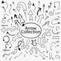Arrows scattering