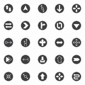 Arrows vector icons set Royalty Free Stock Photo