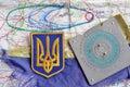 Arsenal explosion in Ukraine.Civil war