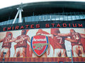 Arsenal Football Legends, Stadium of Light Royalty Free Stock Photography