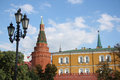 Arsenal Kremlin Tower, Moscow Kremlin, Russia Stock Photos
