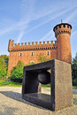 Art and architecture in Park of Valentino. Turin Royalty Free Stock Image