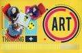 Art Artwork Creation Creative Hobby Concept Royalty Free Stock Photo