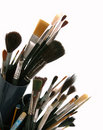 Art brushes Stock Photography