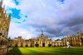 Art Cambridge University and Kings College Chapel Royalty Free Stock Photo