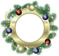 Art Christmas decoration Royalty Free Stock Images