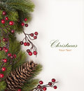 Art Christmas greeting card Royalty Free Stock Photo