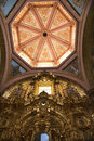 Art church domed ceiling Stock Images