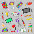 Art Creativity Badges, Stickers, Patches