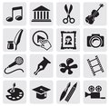 Art Culture icon Royalty Free Stock Photography