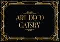 Art Deco Gatsby