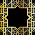 Art deco geometric pattern s style Royalty Free Stock Images