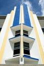 Art Deco Hotel Facade Stock Photos