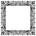 Art Deco Inspired Gold Frame Royalty Free Stock Images