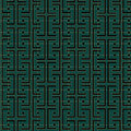 Art deco links pattern an style background containing a seamless repeatable swatch Stock Images
