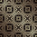 Art Deco Pattern Royalty Free Stock Photo