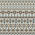 Art deco patterns seamless pattern of abstract borders in blues and browns eps ai file borders are grouped and can be easily Stock Photo