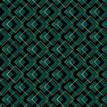 Art deco squares pattern an style background containing a seamless repeatable swatch Stock Photo