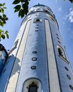 Art-deco St. Elisabeth (Blue) church in Bratislava