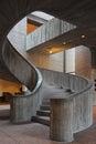 Art Deco Staircase Royalty Free Stock Photo