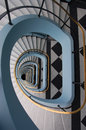 Art deco stairs. Royalty Free Stock Photo