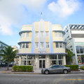 Art Deco Style Marlin in Miami Beach Stock Photography
