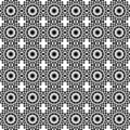 Art Deco style tile geometric seamless pattern Royalty Free Stock Photography