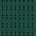 Art deco triangle pattern an style background containing a seamless repeatable swatch Royalty Free Stock Image